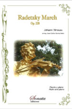 STRAUSS, J.: Radetzky march, Op. 228 (flute and piano)