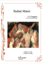 PERGOLESI, G.B.: Stabat mater (2 flutes and cello)