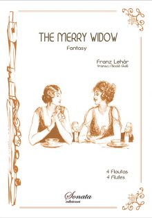 F. LEHÁR: The merry widow - 4 Flutes